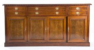 Continental mahogany serving board