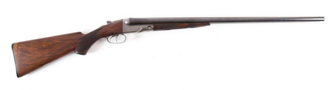 Parker shotgun, engraved
