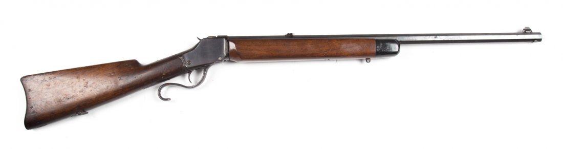 Marlin lever-action drop block rifle