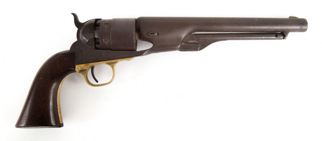 Colt percussion cap revolver