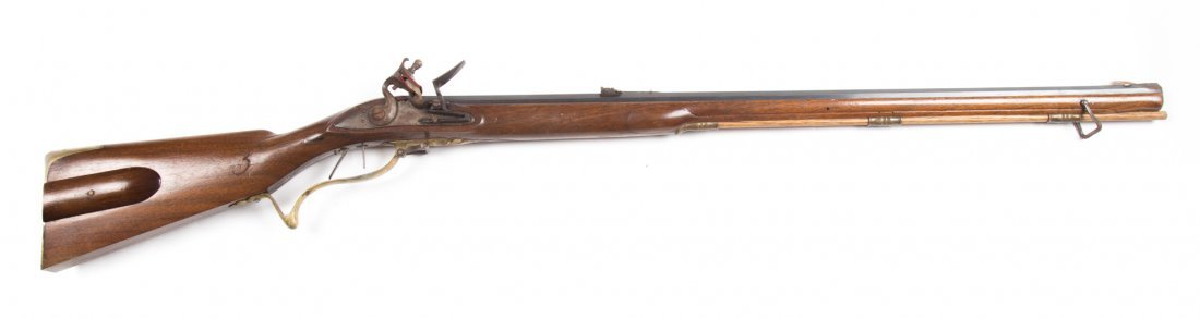 Flintlock rifle with custom stock