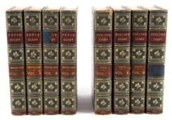 Sets  Bindings Diaries of Pepys and Evelyn
