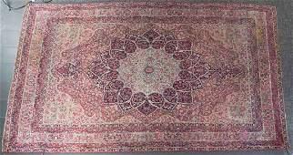 Antique Lavar Kerman carpet approx 84 x 1211