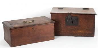 English Oak Bible Box