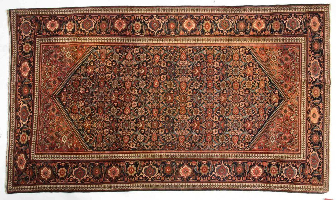 Antique Feraghan Sarouk rug, approx. 4 x 6.8