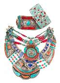 A Collection of Tibetan Jewelry