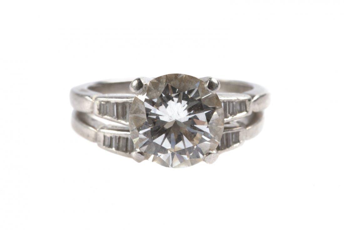 An Important Lady's Diamond Wedding Set