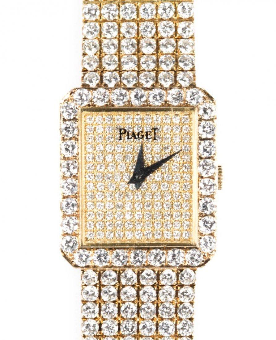 A Lady's Piaget Diamond Protocole Watch