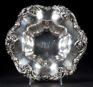 Frank Whiting sterling silver center bowl