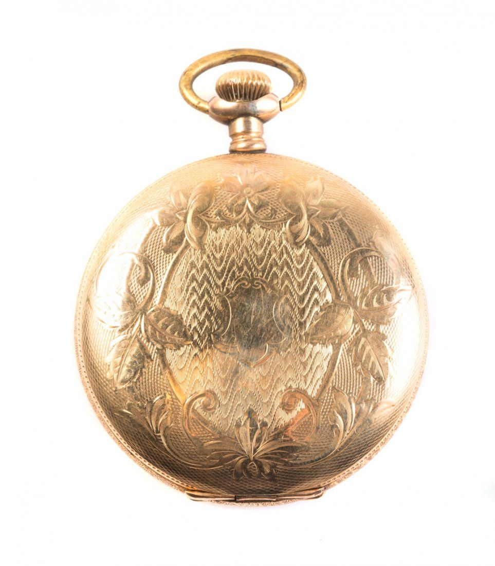 A Gent's Gold Elgin Pocket Watch