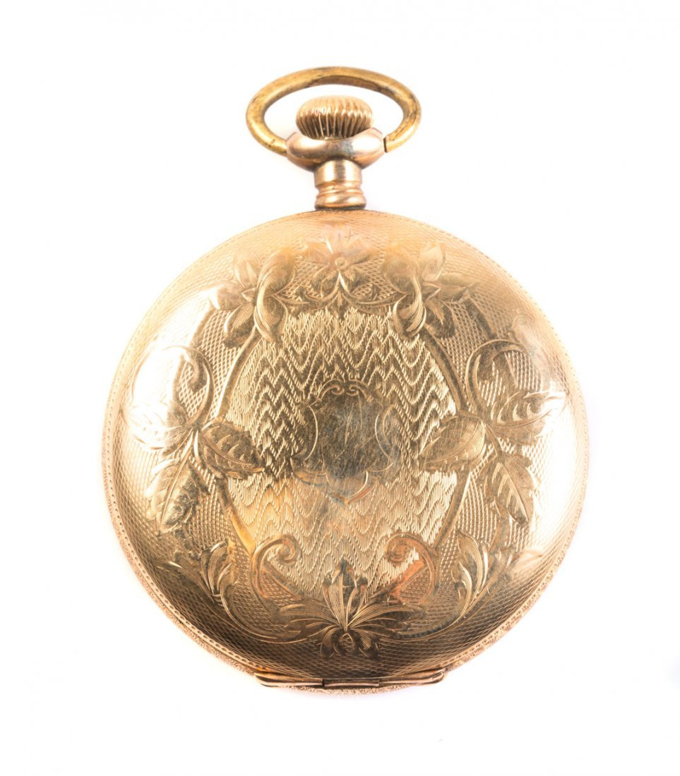 A Gent's Gold Elgin Pocket Watch