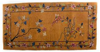 Antique Nichols Chinese rug, approx. 3.1 x 5.10