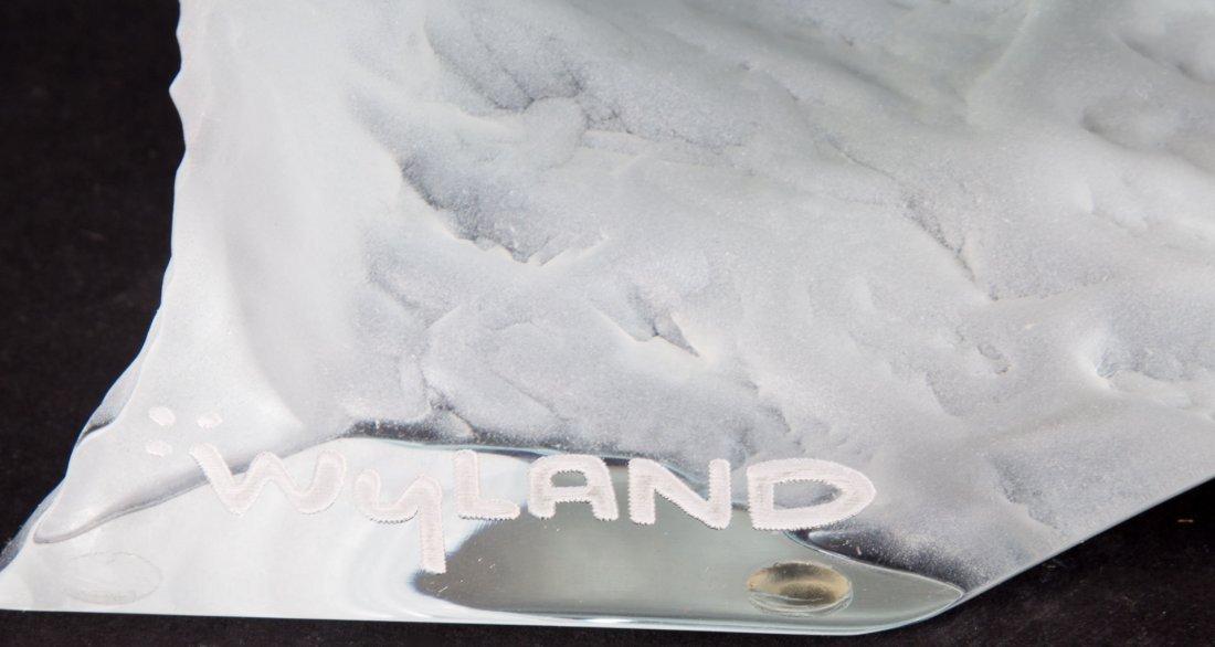 Robert Wyland. Surf Riders acrylic sculpture - 3