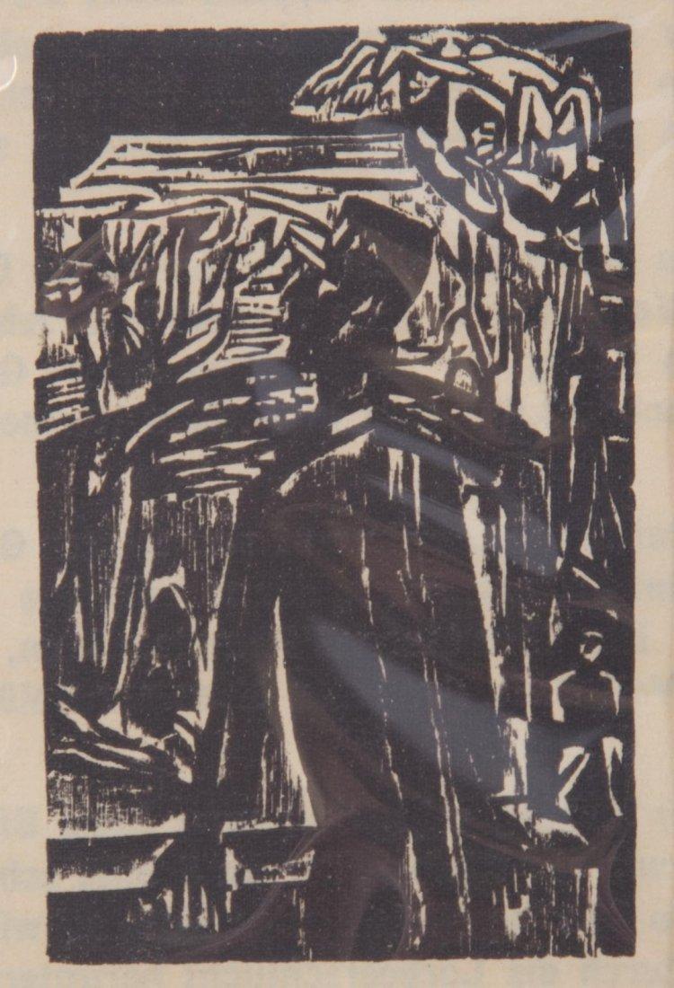 Ernest Kirchner. Three woodcuts - 2