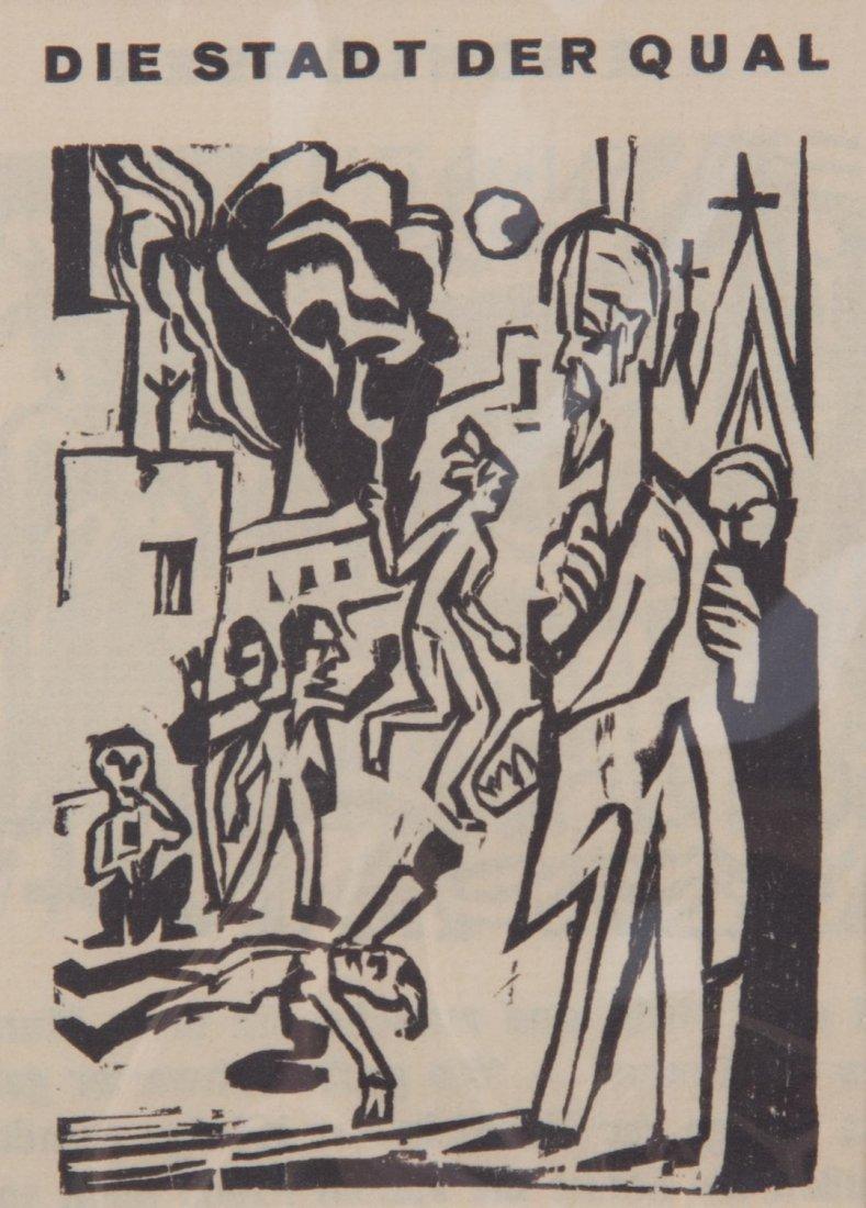Ernest Kirchner. Three woodcuts - 3