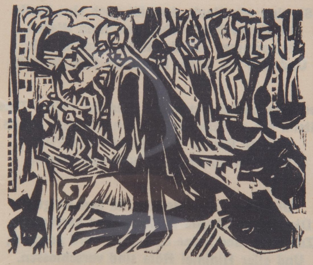Ernest Kirchner. Three woodcuts - 4