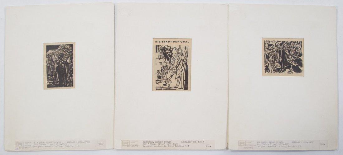 Ernest Kirchner. Three woodcuts - 5