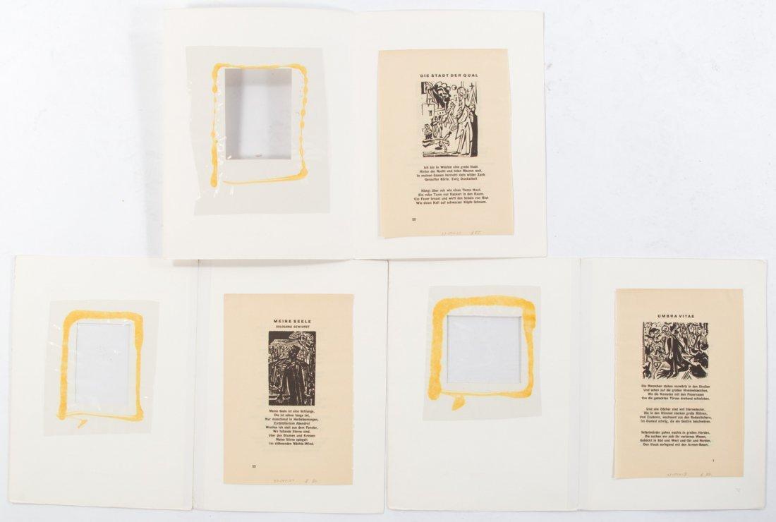 Ernest Kirchner. Three woodcuts - 6