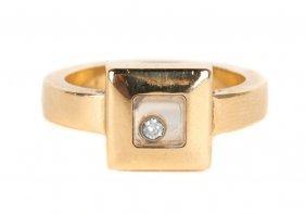 A Chopard Floating Diamond Ring