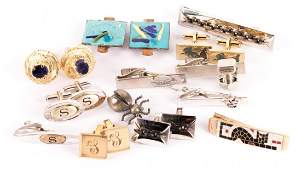 A Gentlemen's Collection of Jewelry