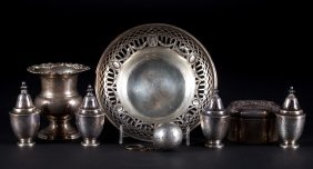 Assorted Sterling Silver Small Table Items