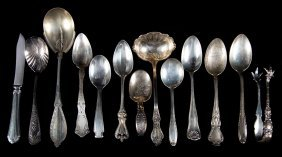 Misc. American Sterling Silver Flatware