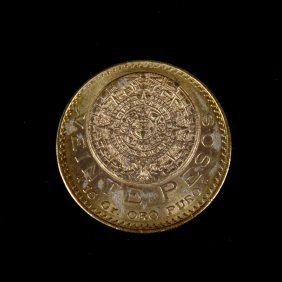 [world] 1918 Mexican Gold 20 Pesos