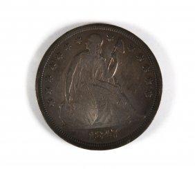 [us] 1847 Silver Dollar
