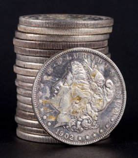 [us] 18 Us Morgan Type Silver Dollars