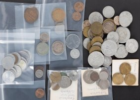 [world] Selection Of European Coins, 20th Century