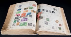 Collection Of Stamps Of The World, 1855-1930