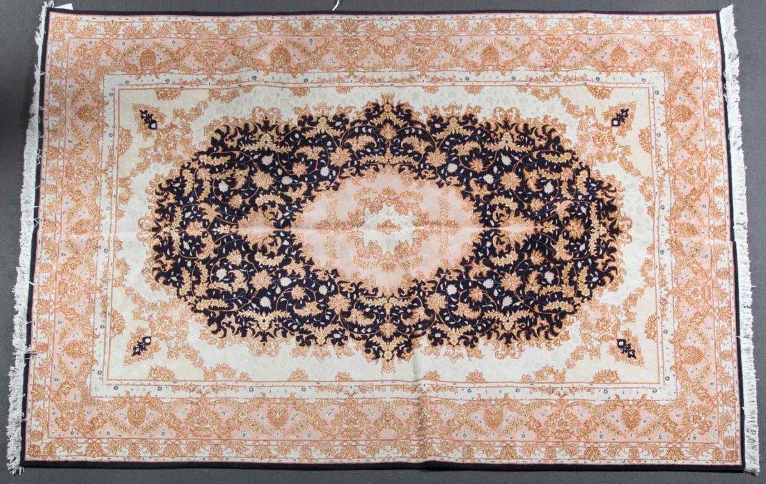 Persian Tabriz rug, approx. 6.6 x 9.9