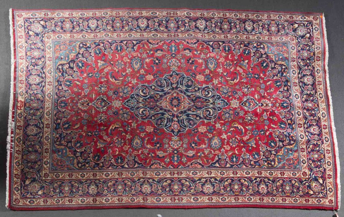 Persian Meshed rug, approx. 6.3 x 9.6