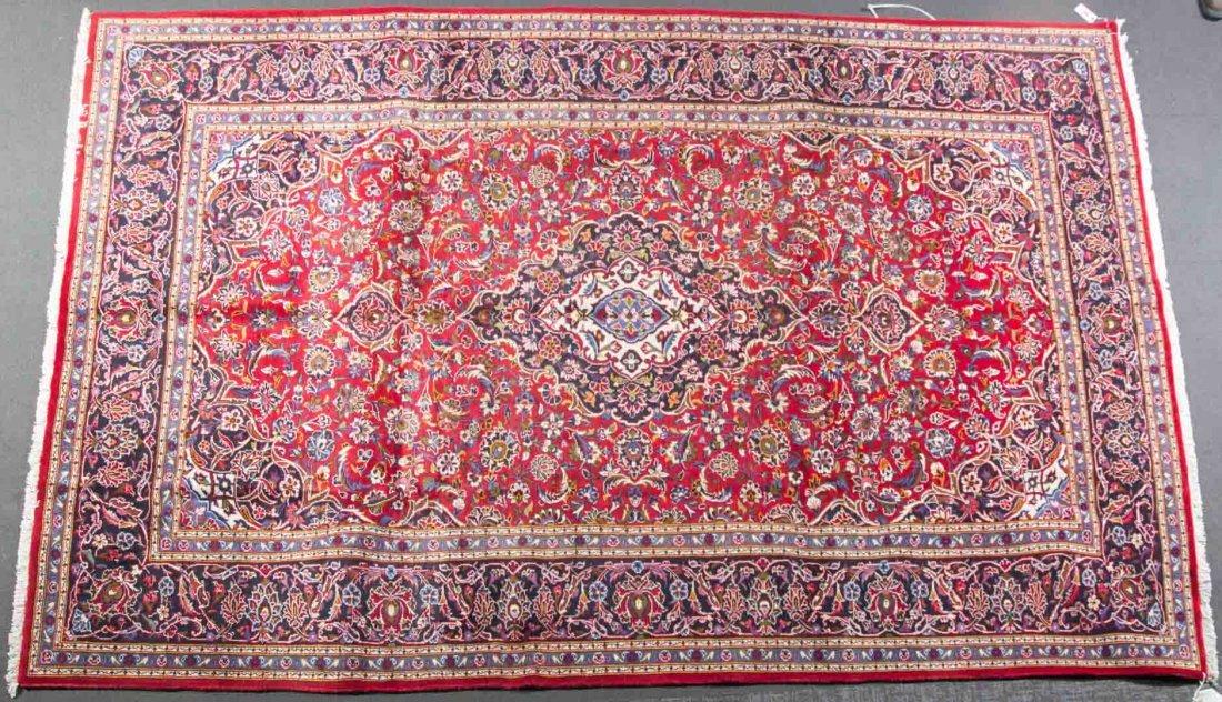 Persian Keshan rug, approx. 8.2 x 12