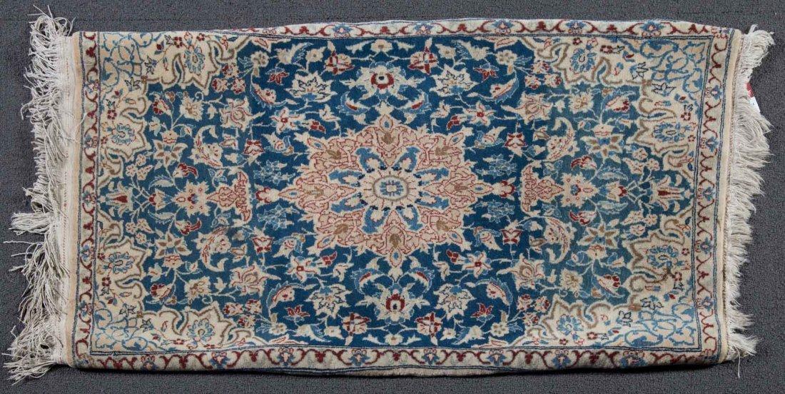 Fine Persian Nain rug, approx. 1.7 x 3