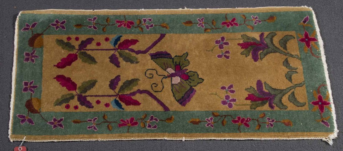 Antique Nichols rug, approx. 2.1 x 3.9