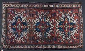 Antique Kazak rug, approx. 4.7 x 7.8
