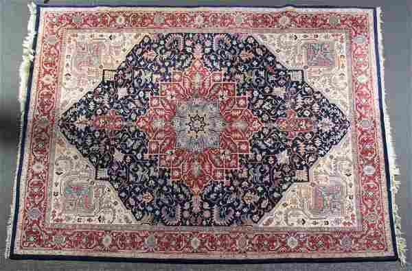 Indo Serapi rug, approx. 9 x 11.8