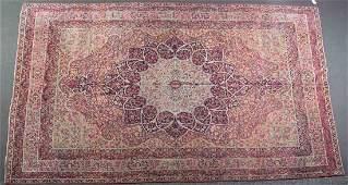 Antique Lavar Kerman carpet, approx. 8.4 x 12.11