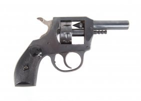Pistol .22 Caliber Blank H&r With Holster