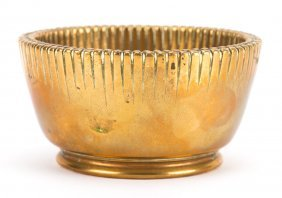 Tiffany Polished Bronze Nut Bowl