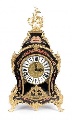 Napoleon Iii Style Boulle Style Mantel Clock