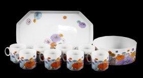 10 Pieces Of Rosenthal Studio Line Porcelain