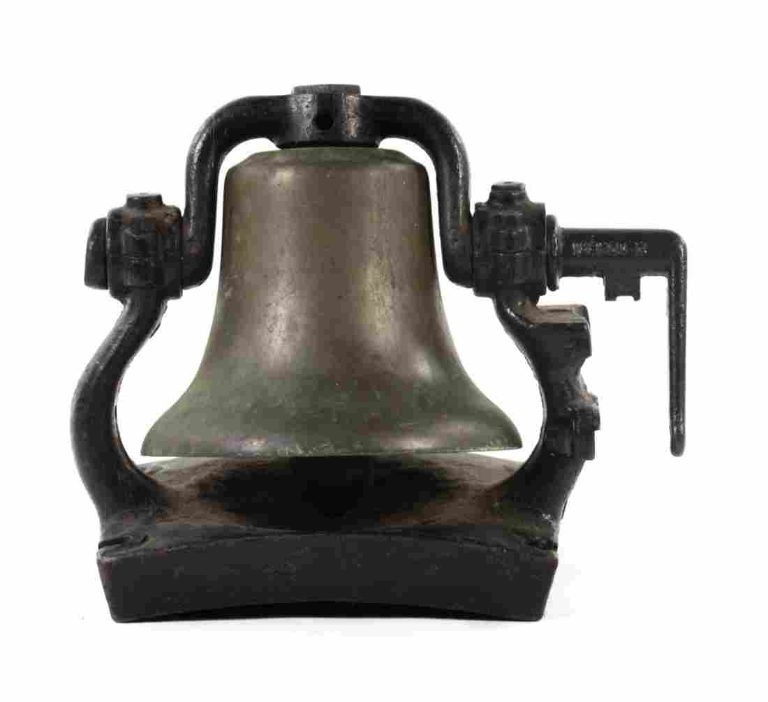 Pennsylvania Railroad bronze locomotive bell