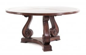 Country Italian Baroque Style Cherry Dining Table