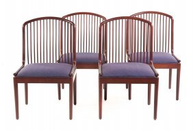 Four Exeter Side Chairs