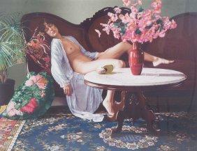 """Douglas Hofmann. """"jessica,"""" Color Lithograph"""