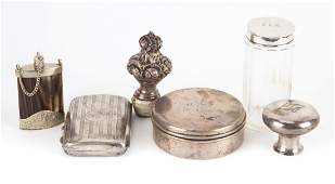 Collection of AmericanContinental silver items