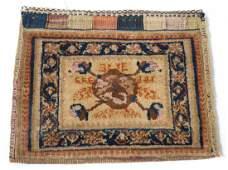 Antique Afshar saddlebag, approx. 1.6 x 2