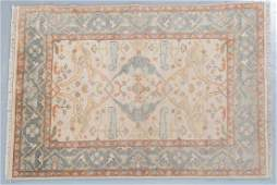 Indo Oushak rug, approx. 4 x 6